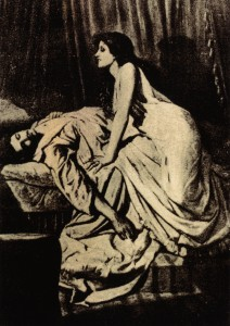 Vampire by Philip Burne-Jones. Image from wikipedia.org